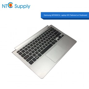 Samsung NP900X3L Laptop Palmrest w/ Keyboard + Touchpad & Speakers BA98-00763A KR with C cover