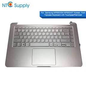 Samsung NP900X5N NP900X5T Keyboard BA59-04178B BA98-01355A Korean Font Topcase With Touchpad/Palmrest Keyboard