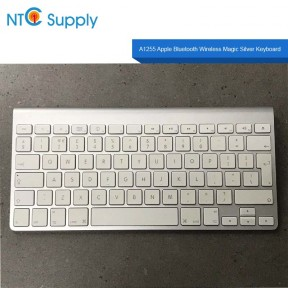 For Apple Bluetooth Wireless Magic Keyboard A1255 MB167LL/A Silver FOR PARTS