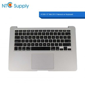 "Apple MacBook Air A1369 13"" Mid 2011 Palmrest w/ Keyboard Trackpad and Battery"