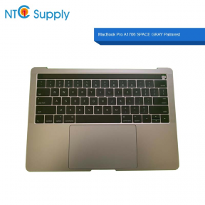 Apple MacBook Pro A1706 SPACE GRAY Palmrest Battery Keyboard Touchpad Touch Bar A1819 Trackpad A