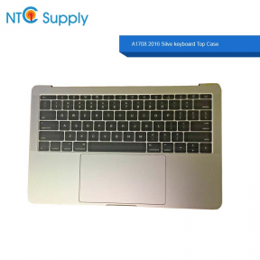 "Silver MacBook Pro 13.3"" A1708 2016 keyboard Battery A1713 Touchpad Top Case"