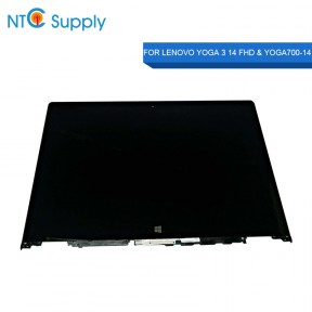 Lenovo Yoga 3 14 FHD  Yoga 700 14 LCD Screen Touch Digitizer Assembly NV140FHM-A10